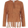 suede fringed jacket - Jacket - coats -