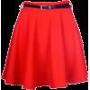 Suknja Skirts Red - Skirts -