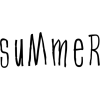 summer text - Testi -