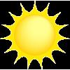 sun clip art - Przedmioty -