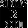 sundays - Texts -