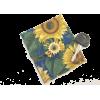 sunflower, coin purse, clutch purse, bag - Clutch bags - $4.99