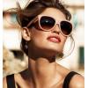 sunglasses brunette runway look - People -