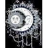 sun/moon dreamcatcher vector - Illustrations -