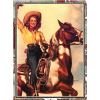 western girl - Illustrations - 500,00kn  ~ $78.71