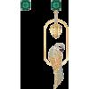 swarovski TROPICAL PARROT PIERCED EARRIN - Earrings -