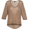Long Sleeves T-shirts Beige - Long sleeves t-shirts -