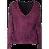 Pullovers Purple - Pullover -
