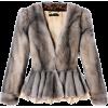 Long fur coat - アウター -