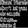 Good Friends - 插图用文字 -