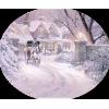 Country at winter - Građevine -