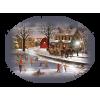 Country at winter - Natural -