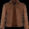 tan leather jacket - Jacket - coats -