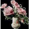 rose in vase - Biljke -
