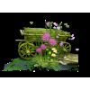 Wooden carts - イラスト -