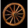 Wooden Wheel - イラスト -