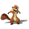 Squirrel - イラスト -