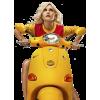 Girl On The Bike - People -
