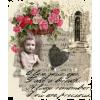 girl rose building - Background -
