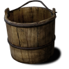 Wooden bucket - Items -