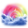 Cloud and rainbow - Nature -
