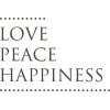 Love Peace Happiness - Textos -