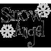snow angel - Texts -