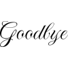 googbye - Teksty -