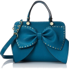 teal bag1 - Hand bag -