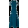 teal dress - Haljine -