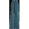 teal pants - Capri & Cropped -