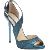 teal sandals2 - Sandals -