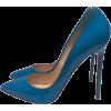 teal shoes1 - Classic shoes & Pumps -