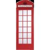 telephone box mirror maison du monde - Furniture -