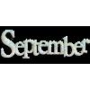 September - Textos -