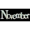 November - Texts -