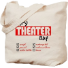 theater tote bag - Travel bags -