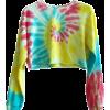 tie-dye top - Long sleeves t-shirts -