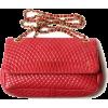 red bag - Hand bag -