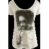 T-shirts B&W - Camisola - curta -