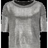 Top Silver - Camiseta sem manga -