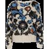 topshop floral sweater - Puloveri -