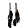topvintage feather earrings - Aretes -
