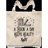 tote bag books - Travel bags -
