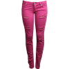 Traperice Pink Jeans - Jeans -