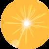 Sun flare - Ilustracije -