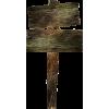 wooden-sign - Ilustracije -