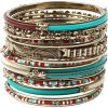 turquoise bangles - Bransoletka -