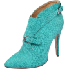 turquoise boots - Boots -