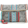 urban outfitters Embroidered clutch bag - Torbe s kopčom -